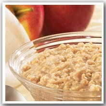 Apple Cinnamon Oatmeal w/ Sucralose