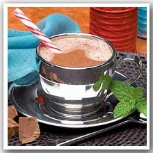 Mint Hot Chocolate Profast